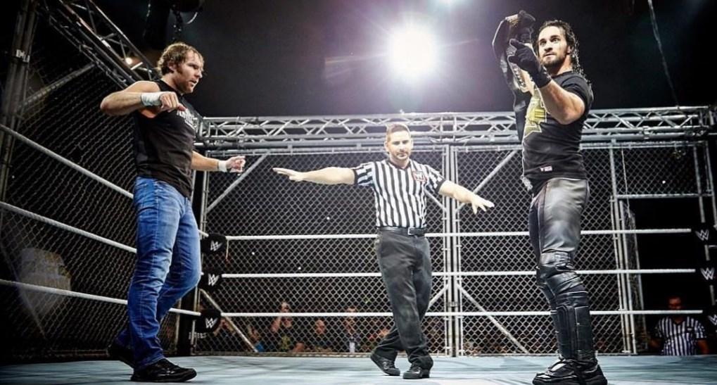 Seth Rollins et Dean Ambrose à Starrcade