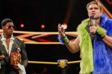 Tyler Breeze de retour à NXT