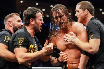 Adam Cole remporte le titre de champion de la NXT