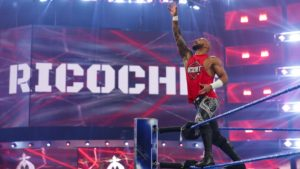 Ricochet affronte AJ Styles