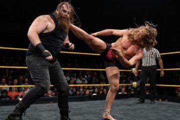 Match entre Matt Riddle et Killian Dain