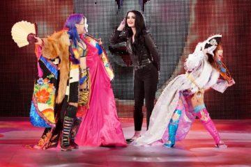 Paige et les Kabuki Warriors