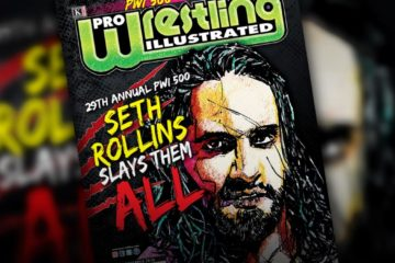 Seth Rollins est la couverture du PWI 500 2019