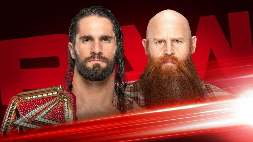 20191024 RAW SethRollins ErickRowan 54fc29aad056ebca5a79b857e81af640 1024x576 - À quoi s'attendre pour le Raw de ce soir ? #7